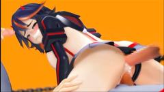 Hardcore 3D gangbang fucking and anal penetration