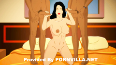 Busty indian toon character feels so damn horny!