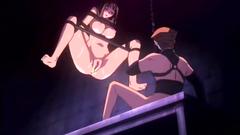 Rough bdsm adventures of sexy naked hentai girl