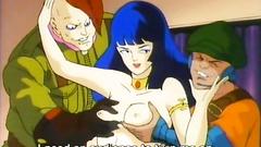 Classic crazy fuck in old school hentai cartoon