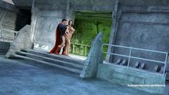 3D Superman fucks perfect blonde milf in her sweet vagina