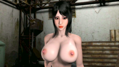 3D Monster with big dick fucked deep throat horned girl