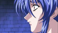 Cartoon video slutty hentai beauty deeply penetrated into her holes