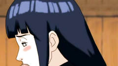 Beautiful and shy Hinata make deep blowjob for Naruto