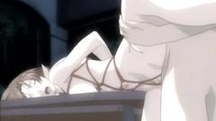 Beautiful bondaged girl loves BDSM games - hentai porn