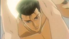 Passionate lovemaking of naked hentai couple