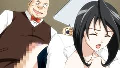 Hot office brunette slut gets fucked by anybody