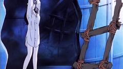 His hands sneak under her skirt - hentai adult cartoon