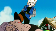 Dragon ball passionate banging with sexy blonde
