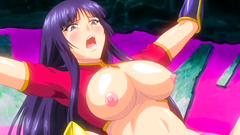 Sweet hentai girls with nice tits hardcore fucked by tentacles