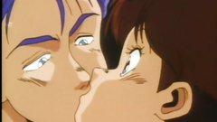 Teenage love story with handsome anime girl
