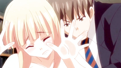 Sweet and petite hentai schoolgirls seduced for banging