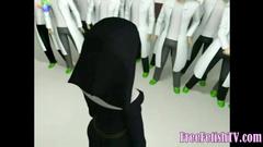 3D Nurses and Nuns Sex Experiment