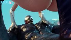 gurl has sex with Venom