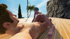 3D Hot Babe Sucks and Rides Cock!