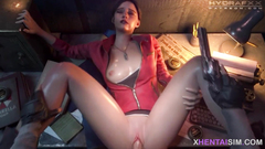 Nice tits 3D babes fucked missionary